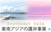 東南アジアの護岸事業